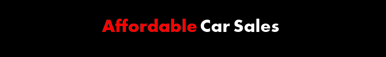 Affordable Car Sales Logo