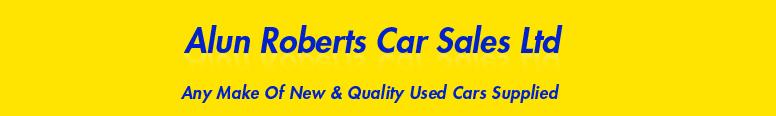 Alun Roberts Car Sales Ltd Logo