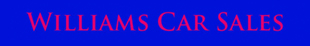 Williams Car Sales logo