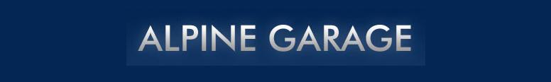 Alpine Garage Logo