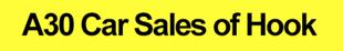 A30 Car Sales of Hook Logo