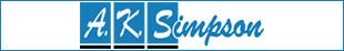 A K Simpson Car Sales logo