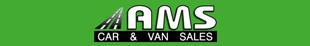 AMS Car & Vans logo
