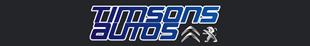 Timson Car Sales logo