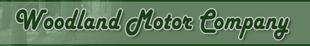 Woodland Motor Company logo